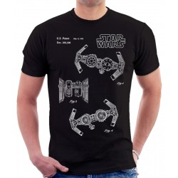 Star Wars Tie Bomber Patent T Shirt
