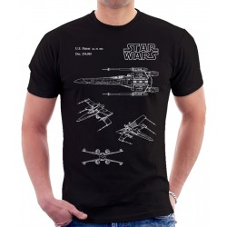 Star Wars X-wing Patent T Shirt