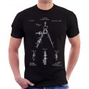 Compasses Patent T-Shirt