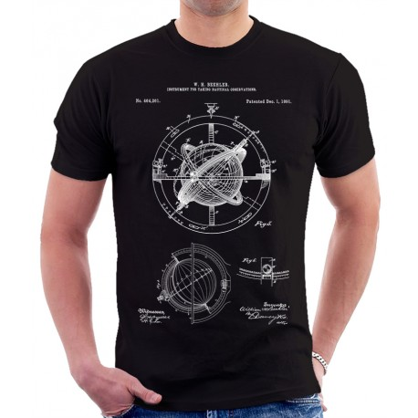 Nautical Compass Patent T Shirt