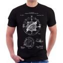 Nautical Compass Patent T-Shirt