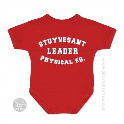 Stuyvesant Leader Physical Ed Onesie