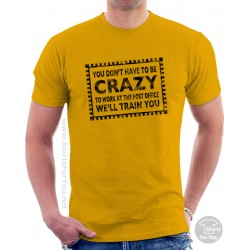 Crazy Post Office Unisex T-Shirt