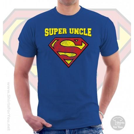 Superman Super Uncle T Shirt