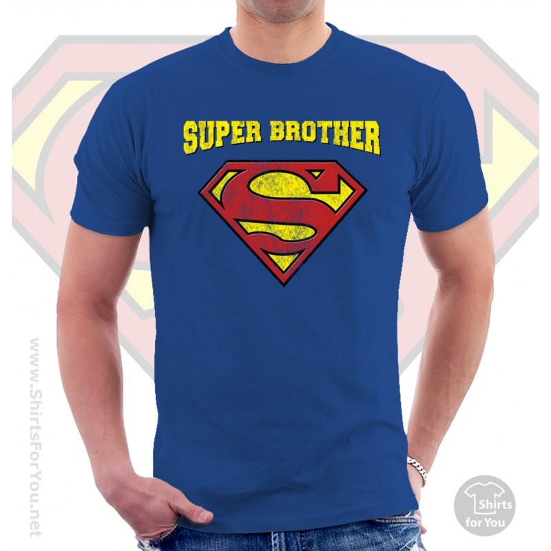 Superman Super Brother T Shirt