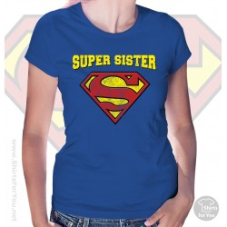 Superman Super Sister Womens T-Shirt