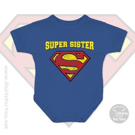 Superman Super Sister Baby Onesie