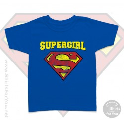 Superman Supergirl Kids T Shirt