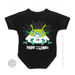 Little Monster Baby Onesie