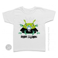 Little Monster Kids T Shirt