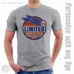 Aged to Perfection Limited Edition 1977 T Shirt