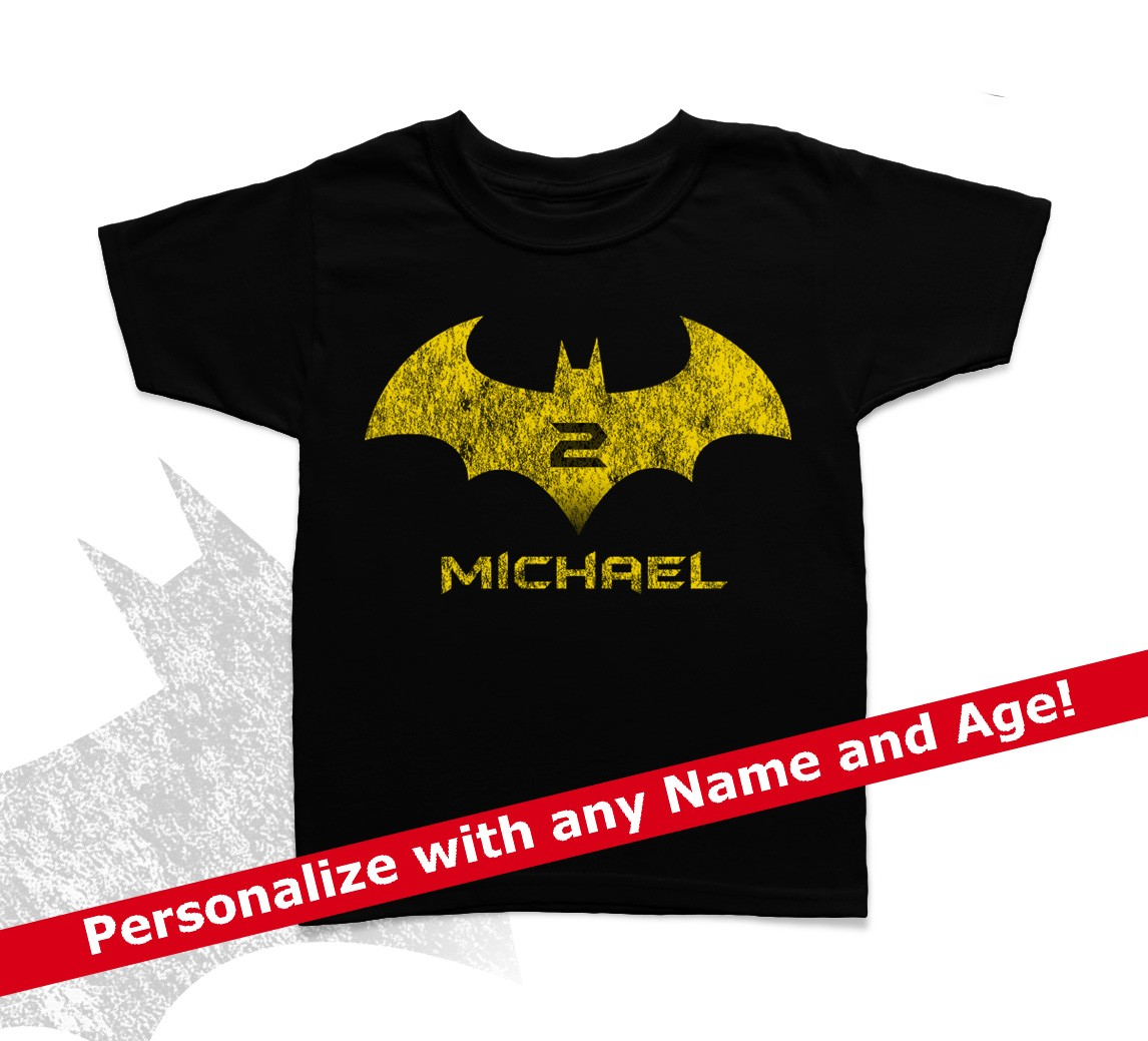 Personalized Birthday Shirts For Toddlers