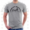 Worlds Okayest Uncle Unisex T-Shirt
