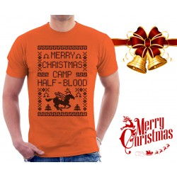 Merry Christmas Camp Half Blood T Shirt