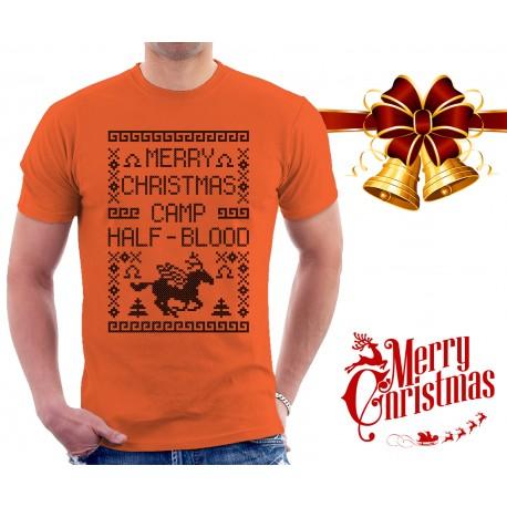Merry Christmas Camp Half Blood T Shirt