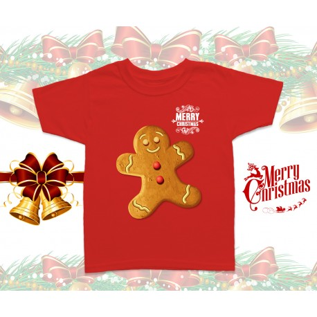 Christmas Gingerbread Kids T-Shirt