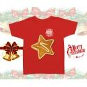 Christmas Gingerbread Star Kids T-Shirt