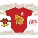 Christmas Gingerbread Tree Baby Onesie