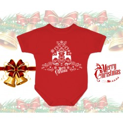 Merry Christmas Baby Onesie