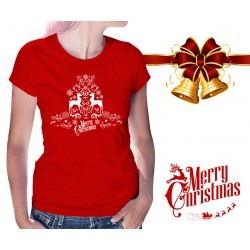 Merry Christmas Womens T-Shirt