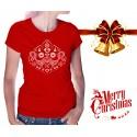 Christmas Birds Womens T-Shirt
