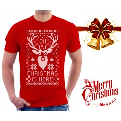 Oh Deer Christmas is Here T Shirt