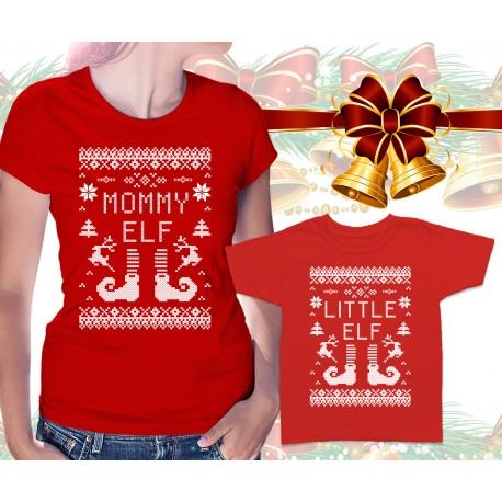 Christmas Elves Matching T Shirts