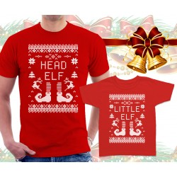 Christmas Elves Matching T Shirts