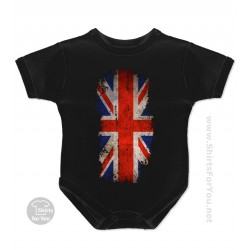 United Kingdom Flag Baby Onesie