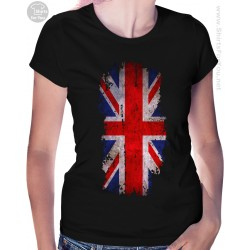 United Kingdom Flag Womens T Shirt