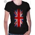 United Kingdom Flag Womens T Shirt