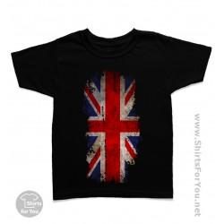 United Kingdom Flag Kids T-Shirt