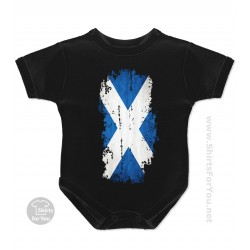 Scotland Flag Baby Onesie