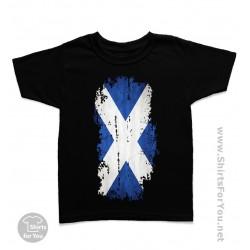 Scotland Flag Kids T-Shirt