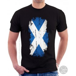 Scotland Flag Unisex T Shirt