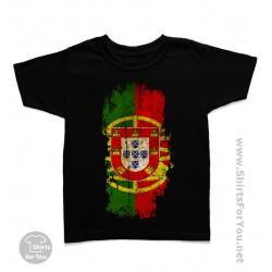 Portugal Flag Kids T-Shirt