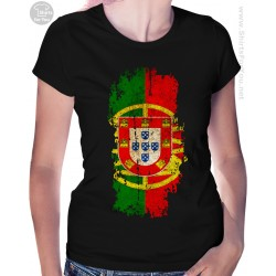 Portugal Flag Womens T Shirt