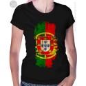 Portugal Flag Womens T Shirt