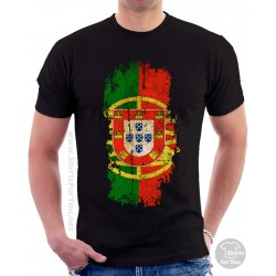 Portugal Flag Unisex T Shirt