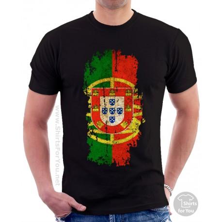 Portugal Flag Unisex T Shirt