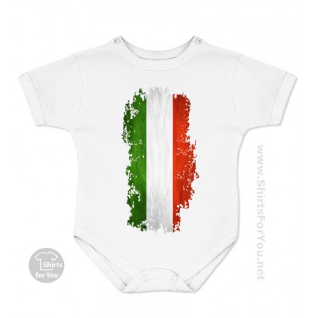 Italy Flag Baby Onesie