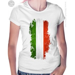 Italy Flag Womens T Shirt
