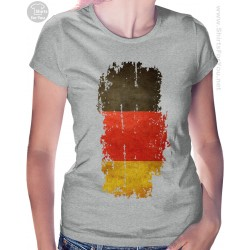 Germany Flag Womens T Shirt