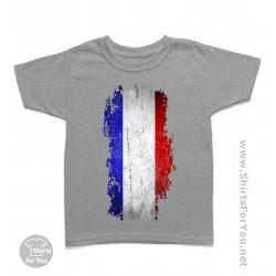 French Flag Kids T-Shirt