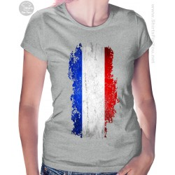 French Flag Womens T Shirt