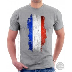 French Flag Unisex T Shirt