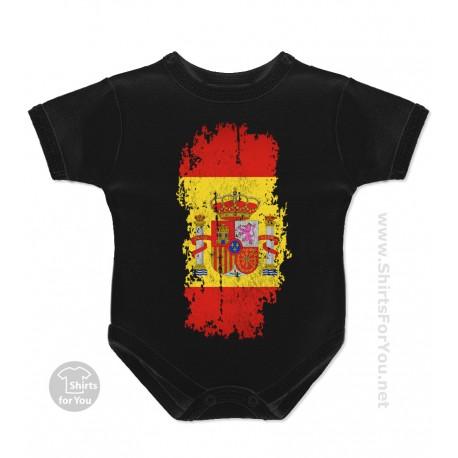 Spain Flag Baby Onesie