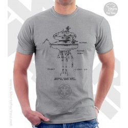 Imperial Probe Droid Star Wars Sketchbook Drawing T Shirt