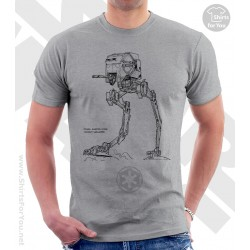 Scout Walker Star Wars Sketchbook Drawing T Shirt