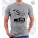 X-Wing Fighter Star Wars Sketchbook Drawing T-Shirt